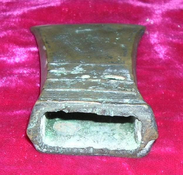 手工制作小铜斧孑