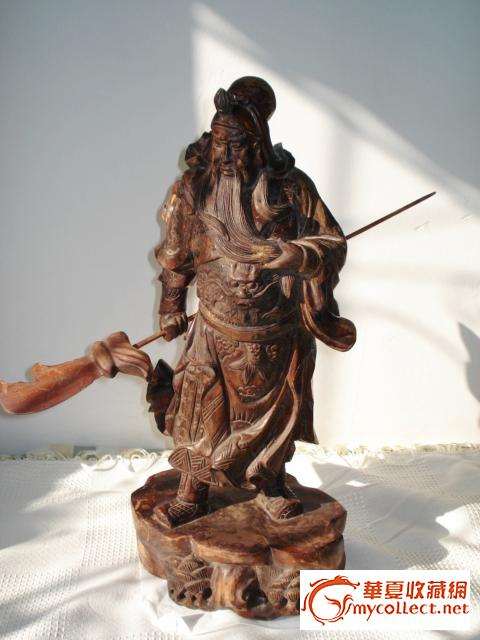木雕-关公