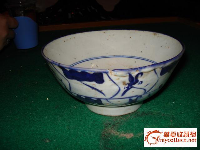 青花大瓷碗