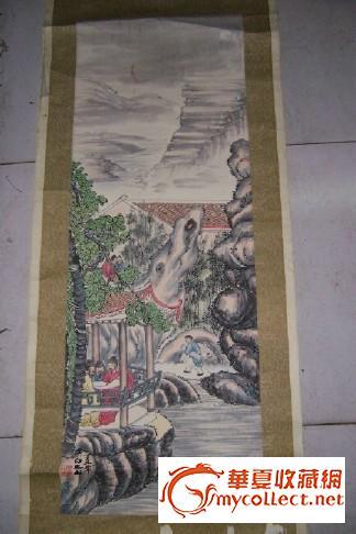 我的江濱夢畫畫圖片