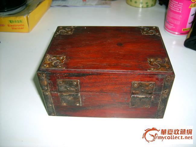 精致的老红木盒子