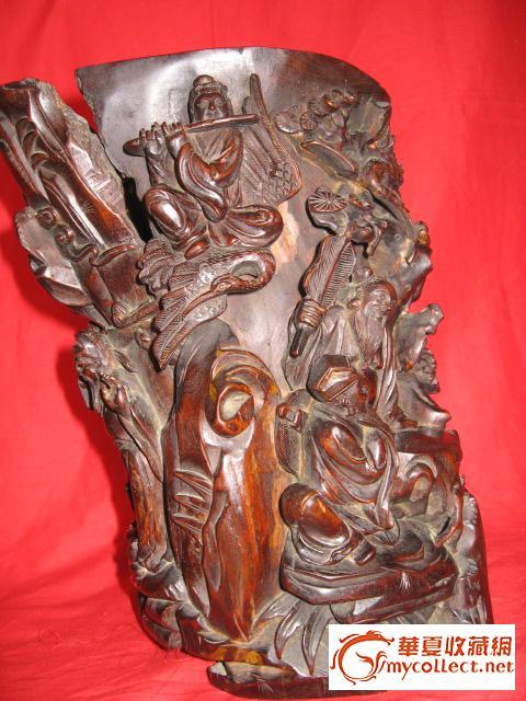 这样的八仙过海木雕精品如今少见了