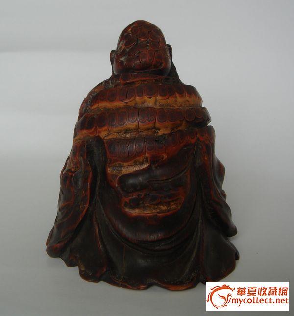 竹根雕长眉罗汉 竹根雕长眉罗汉价格 竹根雕长眉罗汉图片 来自藏友极