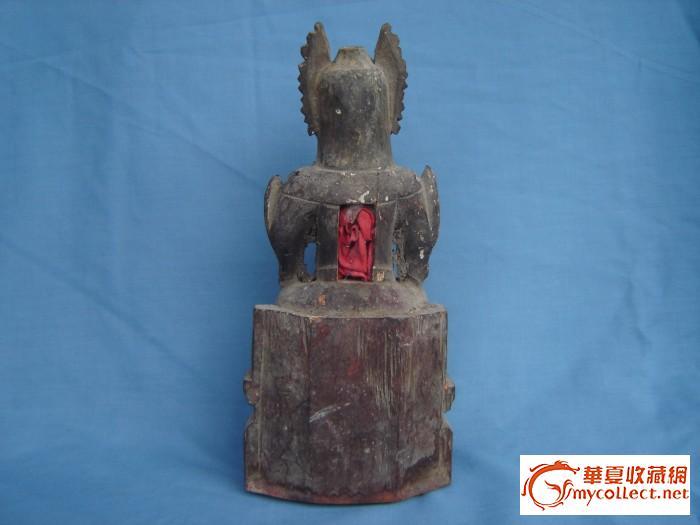 木雕神像-元帅