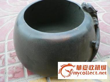 一个清代的紫铜酒壶