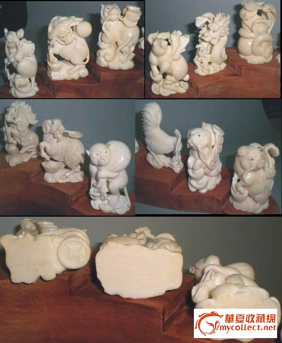 雕刻十二生肖
