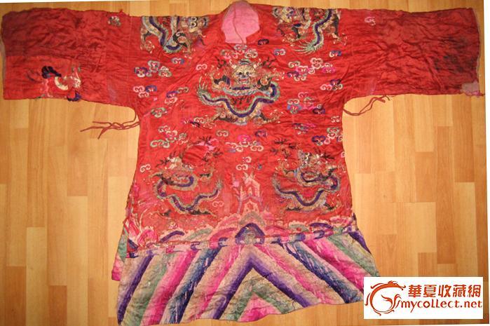 旗袍刺绣图案手绘