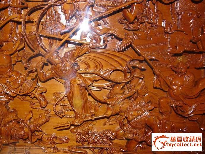 东阳木雕总厂70年代壁挂西游记