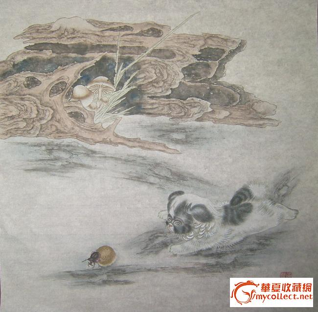 黄呈晋---工笔动物(四张同卖)
