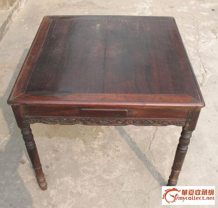 民国红木麻将桌