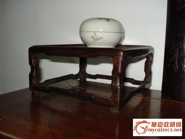 老红木木方座 类别:木器