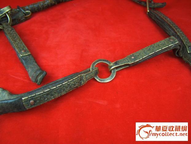 明清蒙古族骑兵用牛皮腰带