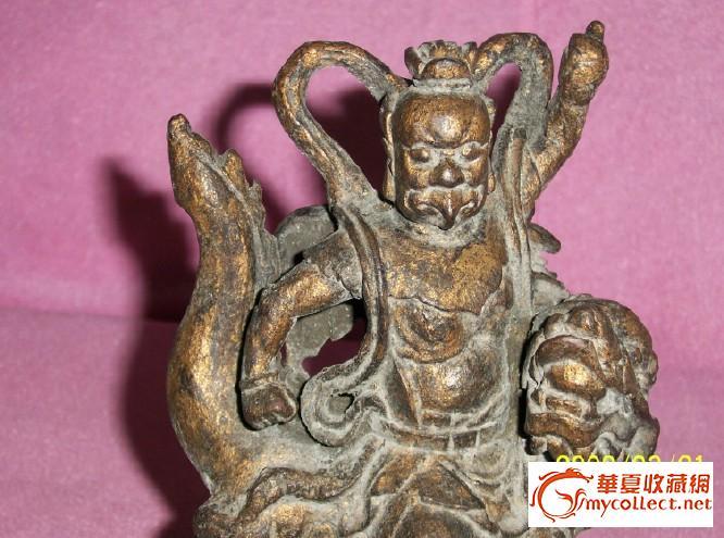 清代木雕神像-图4