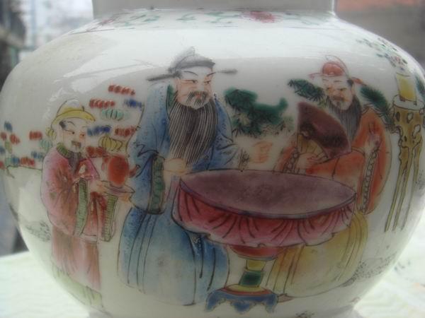 民国人物罐