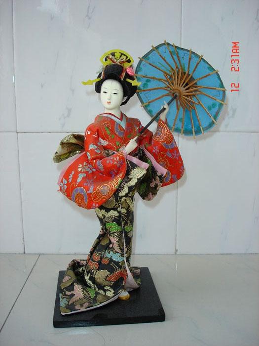现代工艺品 小日本歌姬