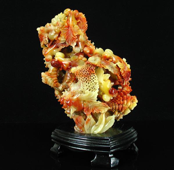 芙蓉石精美雕刻    15 - h_x_y_123456 - 何晓昱的艺术博客