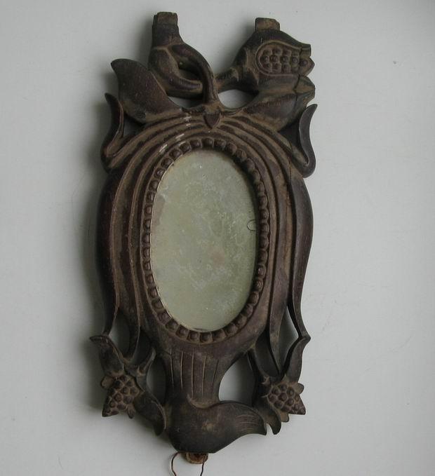 老红木镜子