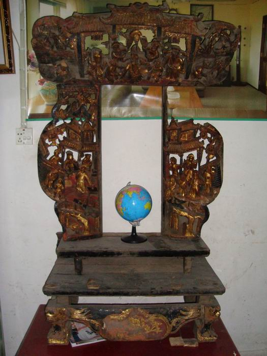 农村神台背景设计