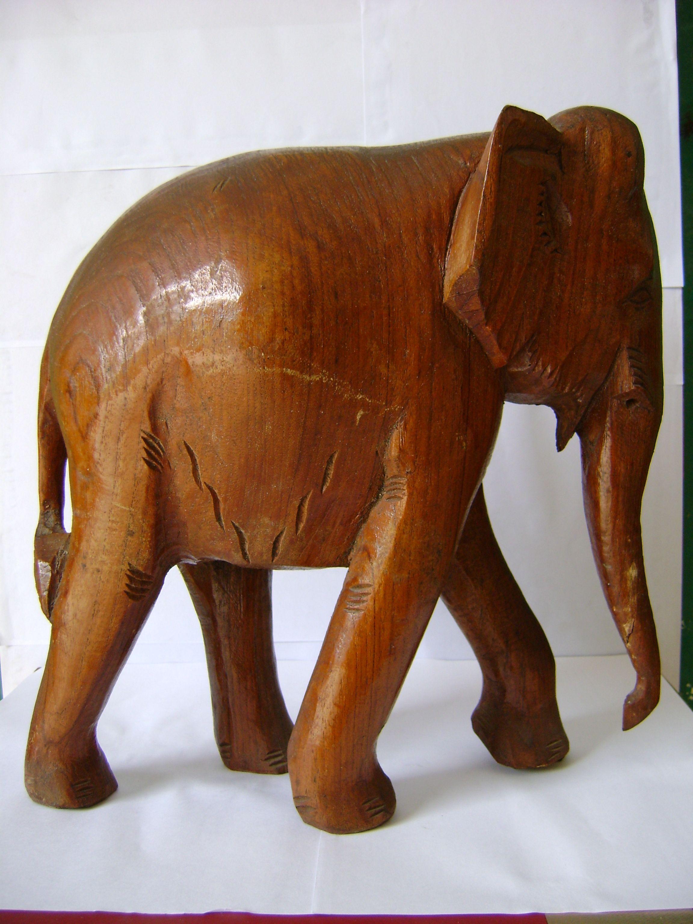 木雕大象_木雕大象价格
