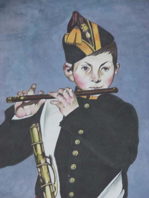 吹笛子的少年