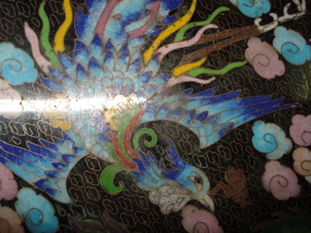 盘子画动物带装饰