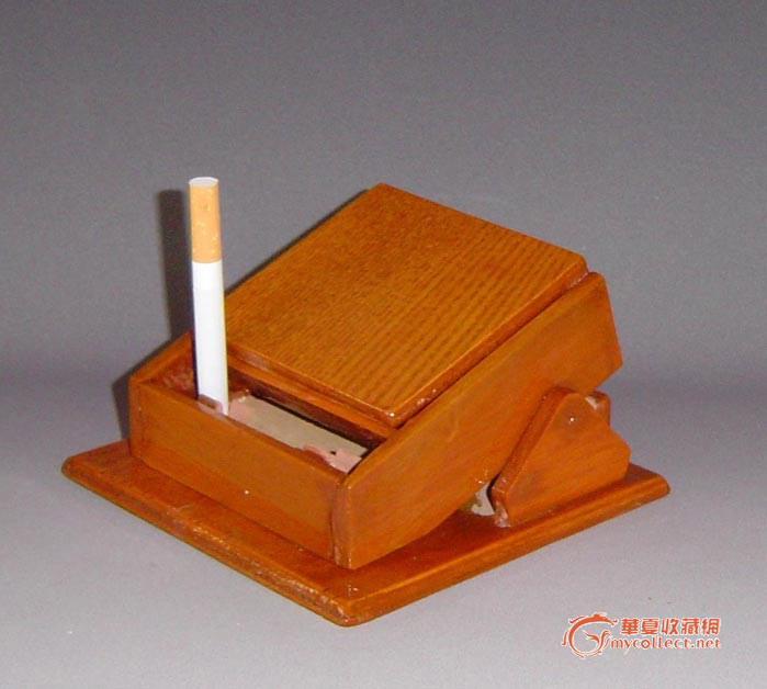纯手工制作自动烟盒