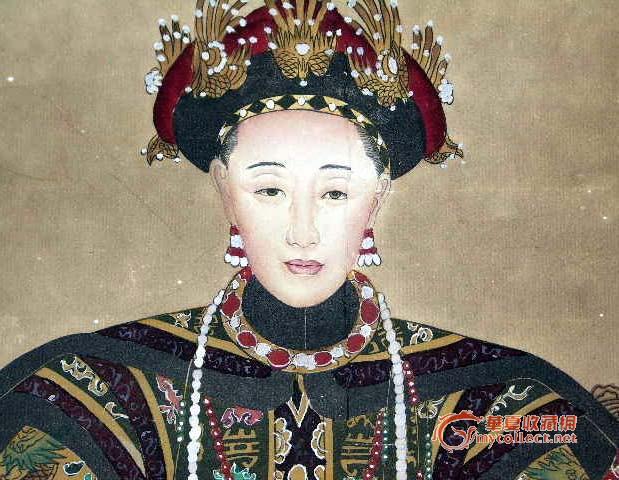 工笔人物画—皇帝皇后像