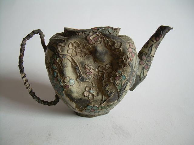 古代文人用景泰蓝酒壶