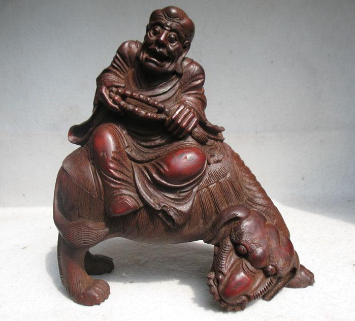 竹根雕10罗汉 竹根雕10罗汉 补图价格 竹根雕10罗汉 补图图片 来自藏