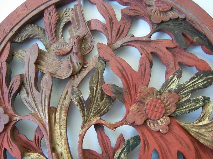 圆型木雕花板_圆型木雕花板价格_圆型木雕花板图片_藏