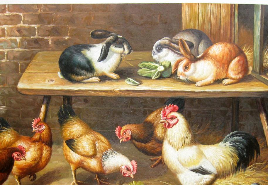██ 農家院 ██ 油畫寫生