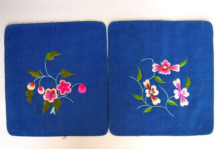 刺绣枕头顶 刺绣枕头顶价格 刺绣枕头顶图片 来自藏友三和斋 织锦 图片