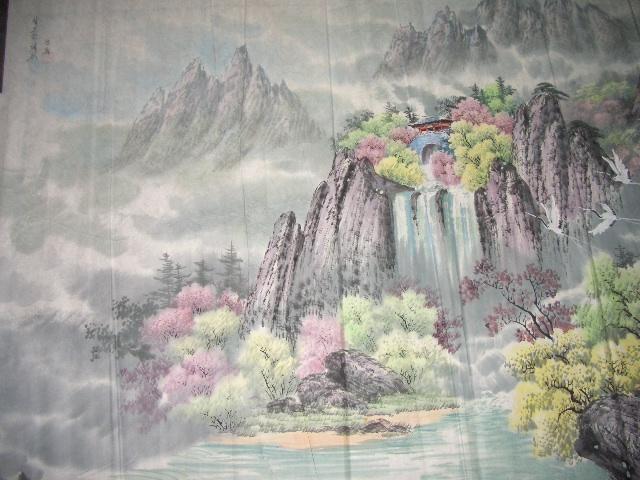 朝鲜七宝山风景画2