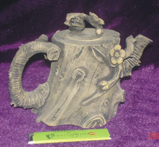 澄泥石(树桩壶)