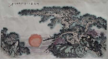 王本诚的风景画