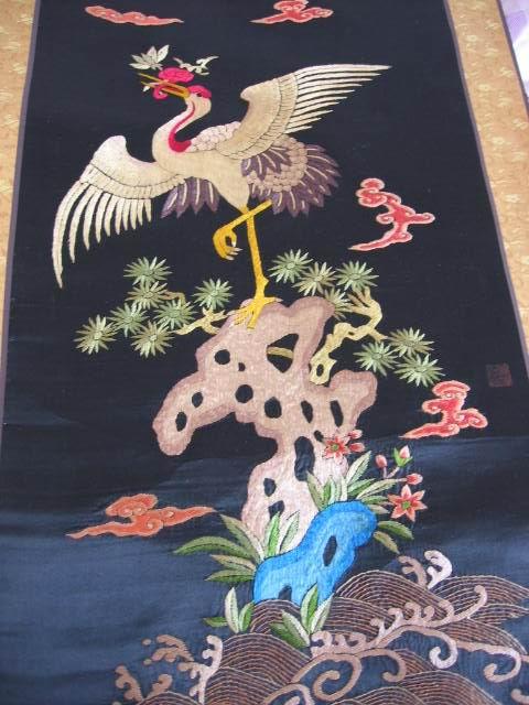 刺绣-----仙鹤