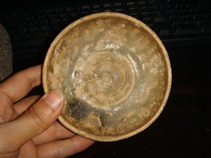 西周 原始青瓷 碗