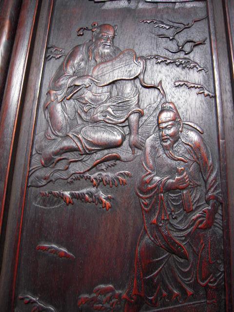 木板雕刻---八仙过海=补图