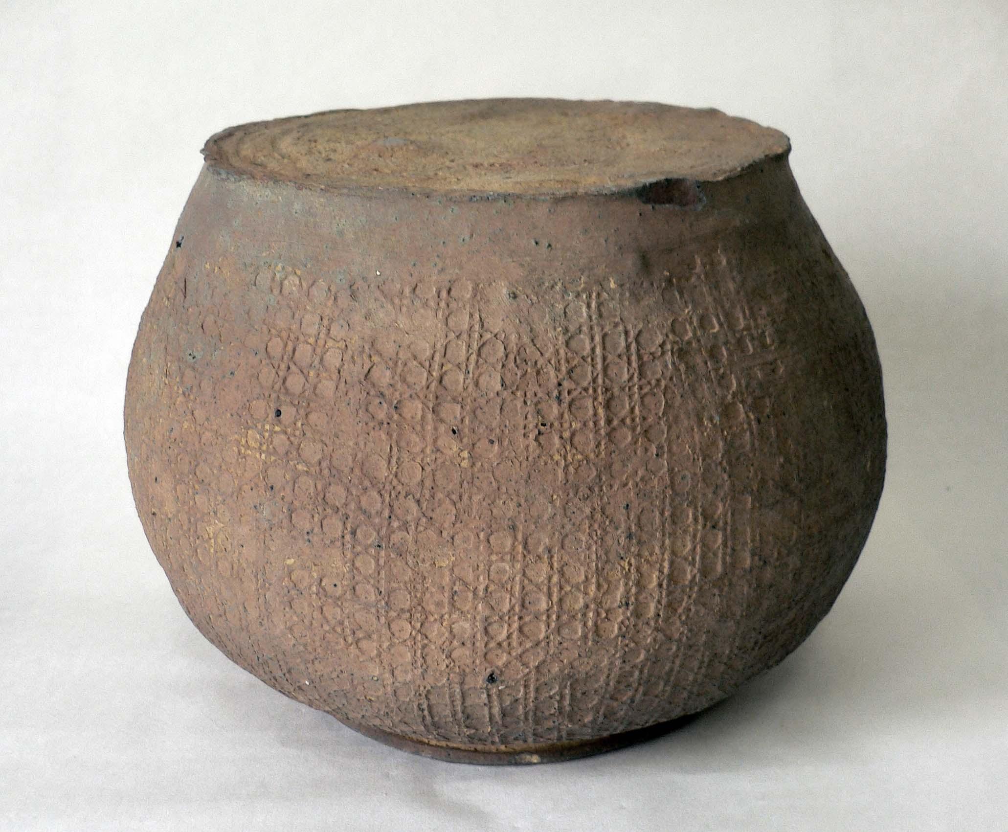 西周印纹陶罐图片