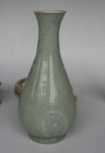 宋末元初 龙泉瓶 高14厘米 美