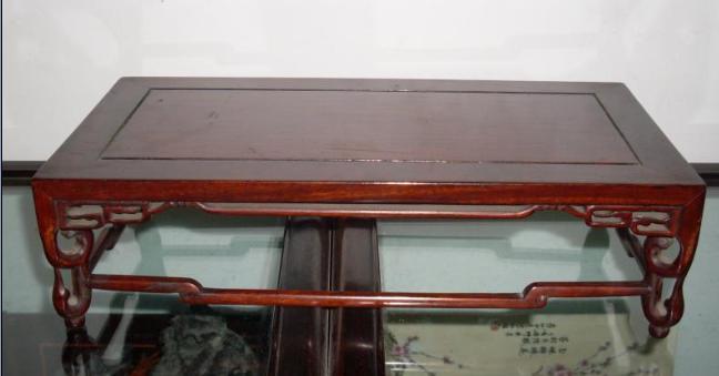 民国红木茶几 有包浆 36厘米 19厘米 10厘米