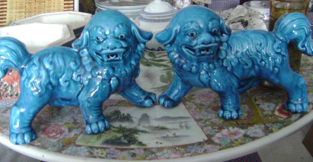 狮子_狮子价格_狮子图片_来自藏友瓷都补瓷人_瓷器