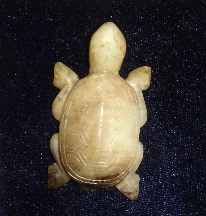 小乌龟挂件图片,来自藏友藏博雅轩-玉器-地摊交易
