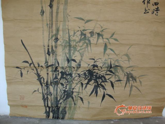 喜禅--淡彩-----竹子
