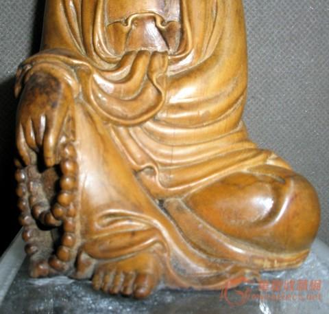 黄杨木木雕观音