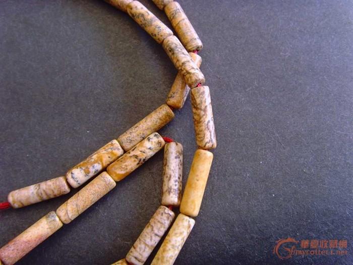 古代玉项链