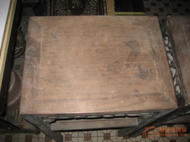 茶几腿和牙板 马胡一对(酸枝木) 两椅一茶几红木(酸枝木)补图 两椅一