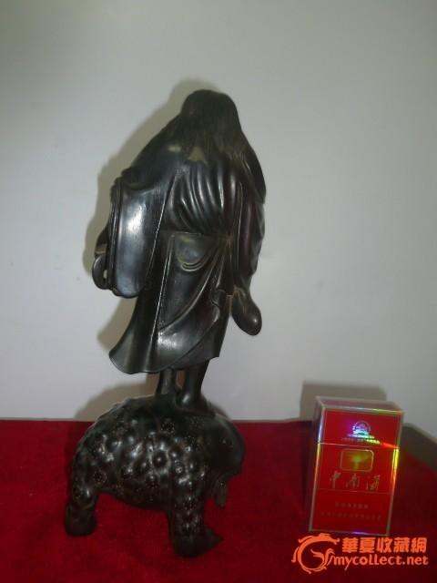 清代小叶紫檀木雕图片