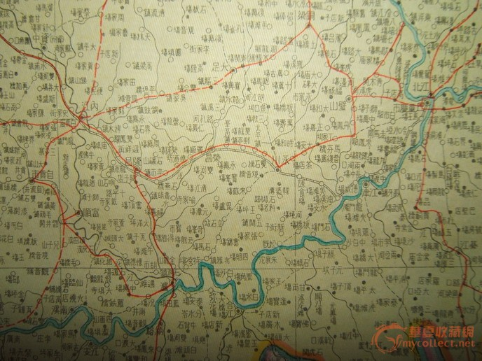 民国《四川明细地图》