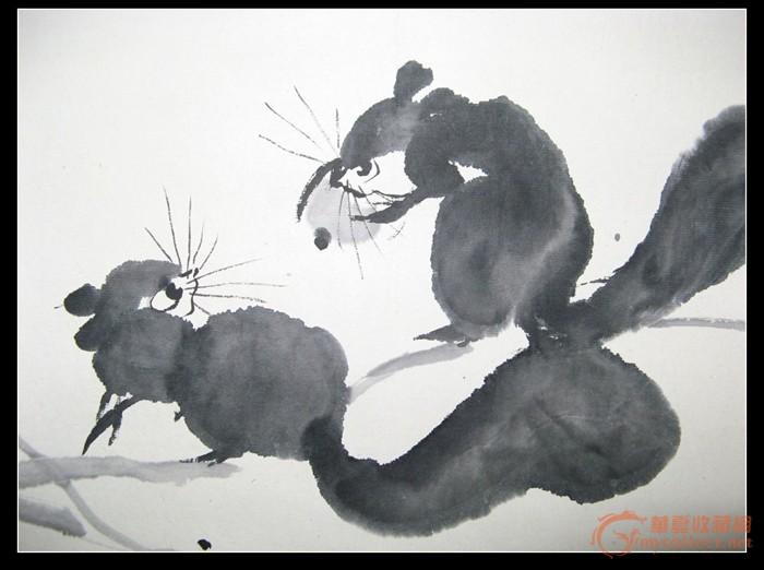 松鼠葡萄.